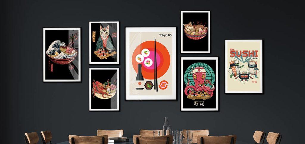 Inspirasi Lukisan Dinding Untuk Ruang Makan Anda