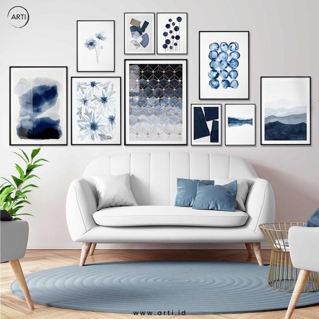 5 Langkah Mudah Membuat Gallery Wall di Rumah! Interior Jadi Makin Cantik!