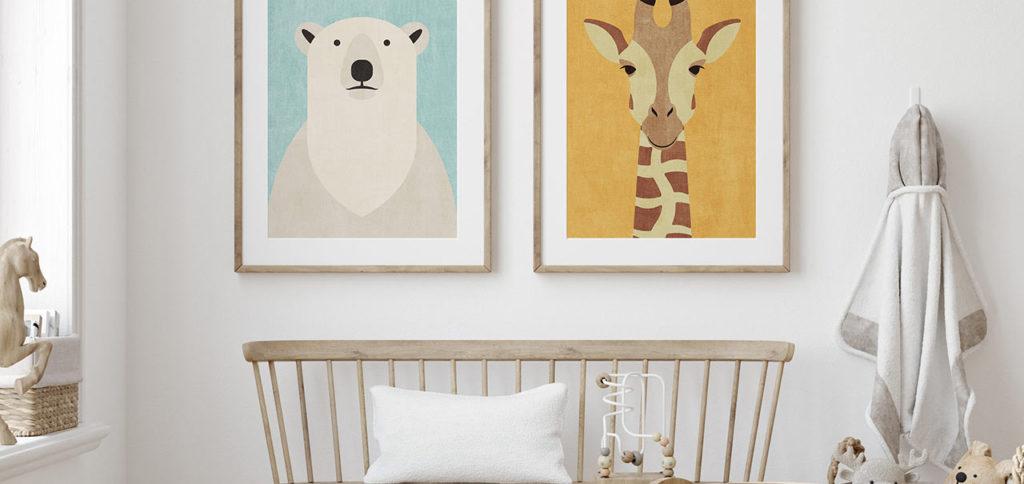 Mencari Wall Art Untuk Kamar si Kecil? Ini Dia 6 Karya Menggemaskan Untuk si Kecil!