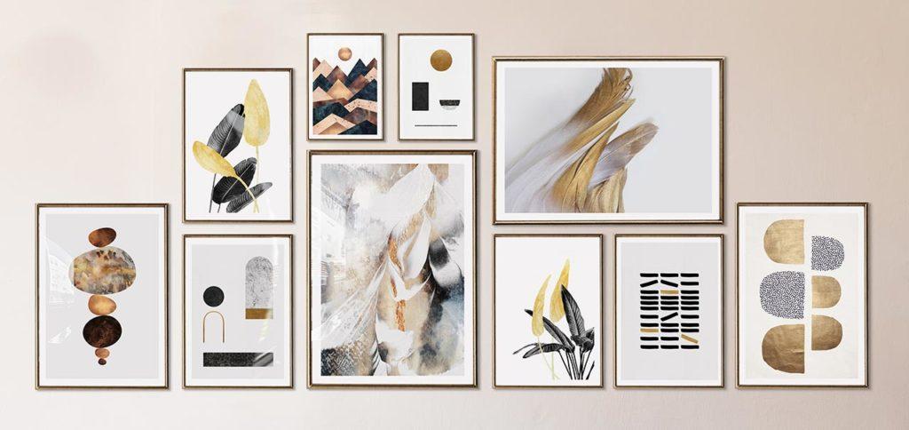 4 Macam Inspirasi Set Lukisan Dinding Cantik Untuk Dekorasi Rumah