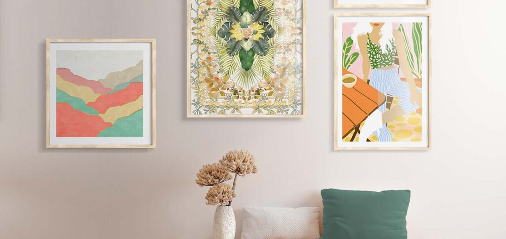 Ini Dia Lukisan Penuh Warna Yang Buat Ruangan Punya Kesan Happy! Semakin Banyak Warna, Semakin Menyenangkan!
