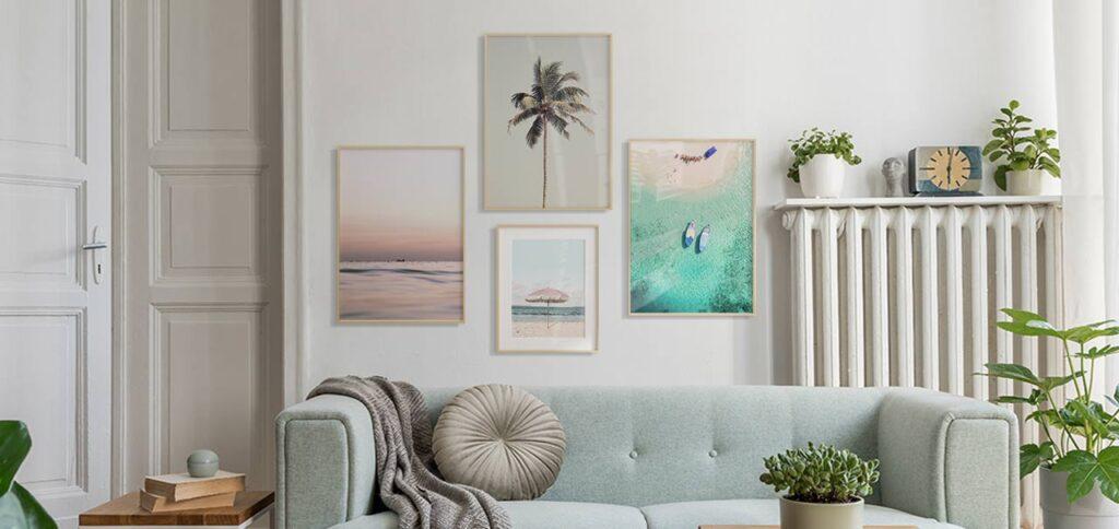 Lukisan Dinding Dengan Tema Pantai, Bikin Ruangan Terasa Lebih Santai!