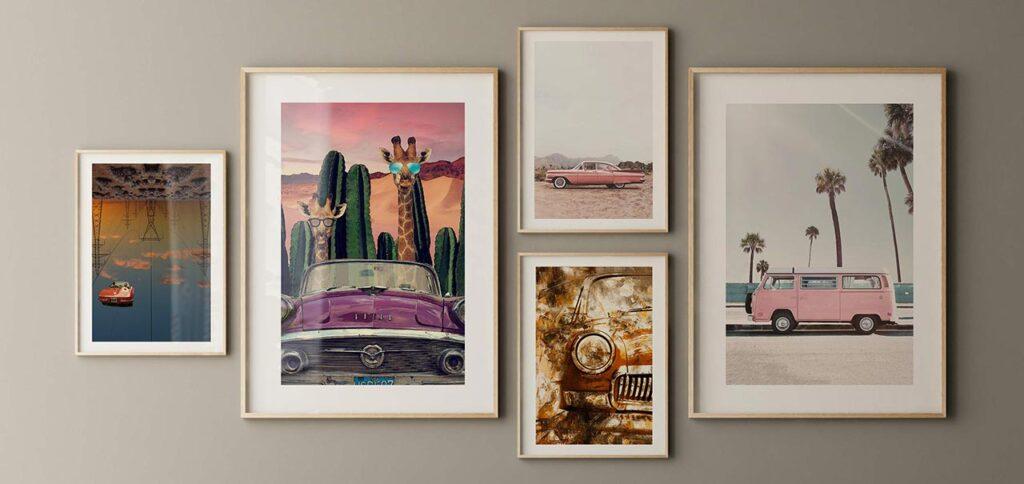 Ini Dia… 7 Lukisan Dinding Keren Dengan Tema Otomotif!