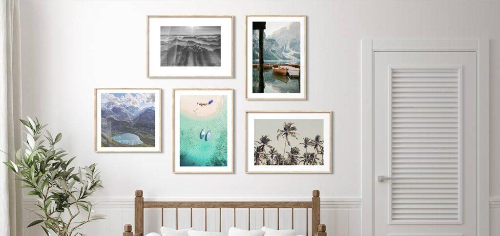 5 Lukisan Pemandangan Alam yang Bikin Interior Rumah Bernuansa Tenang