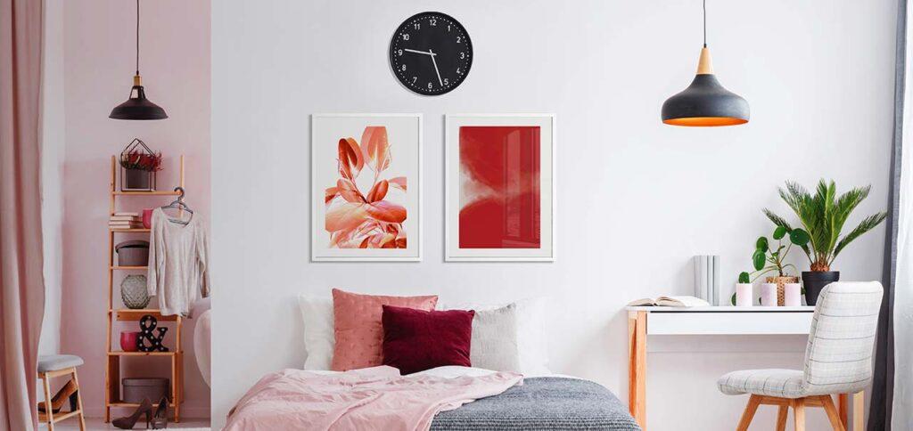 #RedArt : Berani Menggunakan Warna yang Kontras dalam Mendesain Wall Art