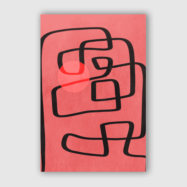 VivianaGonzales - Line Art Improvisation 4
