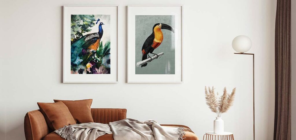 Fly Like a Bird: Menggunakan Lukisan Burung di dalam Rumah