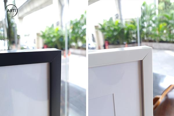 Frame Fiber Hitam-Putih