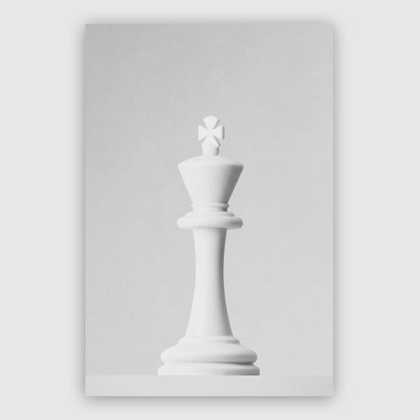 Daniel Coulmann - Game Of The Throne The White King Print