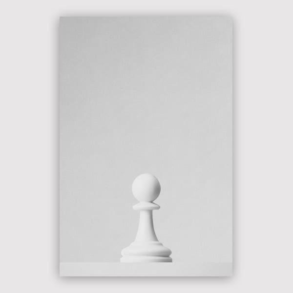 Daniel Coulmann - Game Of The Throne The White Pawn Print