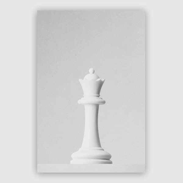 Daniel Coulmann - Game Of The Throne The White Queen Print