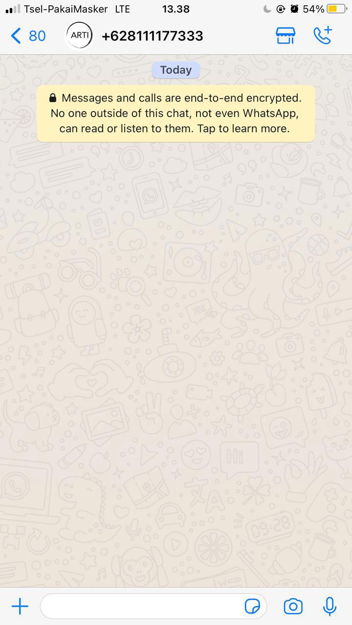 Whatsapp ARTI