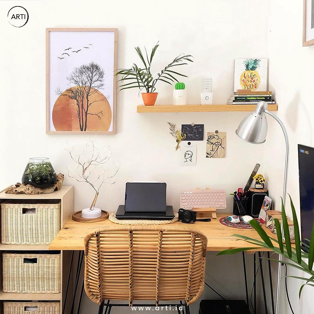 Arti_Satu Lukisan yang Paling Sesuai dengan Tema Ruangan