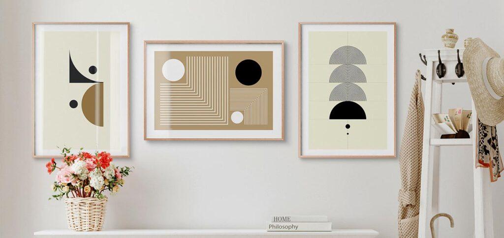 Inspirasi Lukisan Dinding untuk Apartemen Ukuran Studio