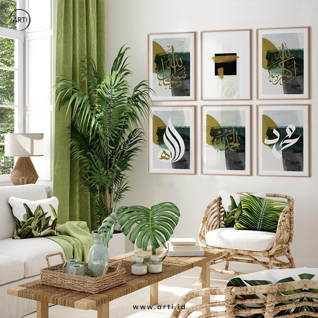 Pilih Hias Dinding dengan Warna dan Elemen yang Selaras Interior