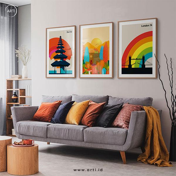 ARTI Wall Art Set - Rainbow-Travels