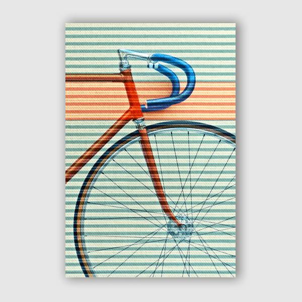 Fernando Vieira - Standard Striped Bike