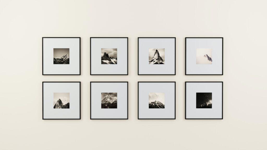 Matte Frame Wall Arts