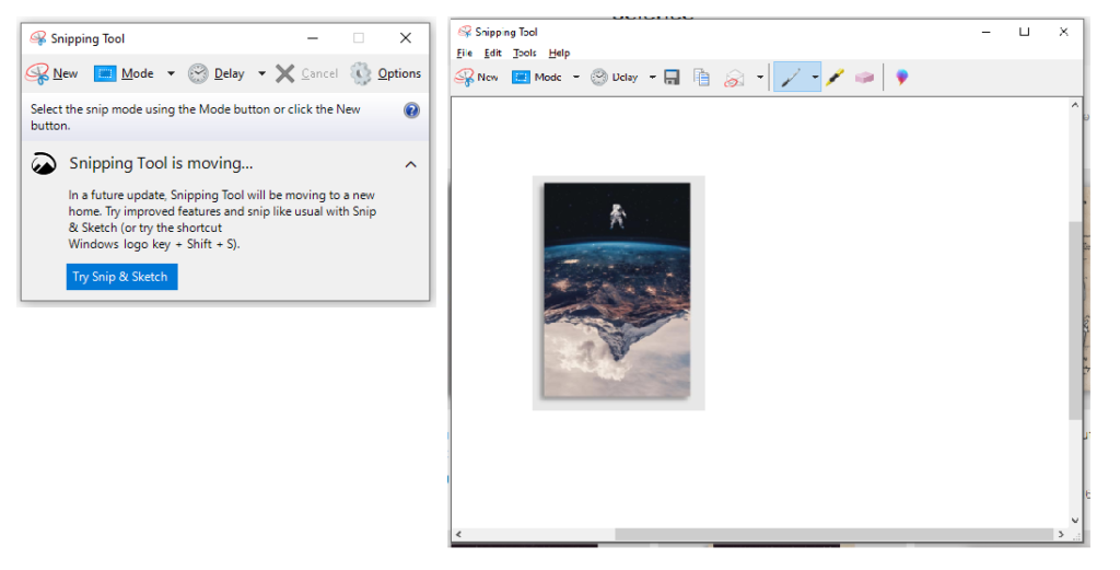 Buka Aplikasi Screenshot.