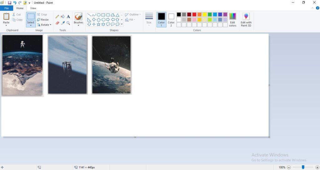 Ulangi Langkah Diatas untuk Menggumpulkan Gambar