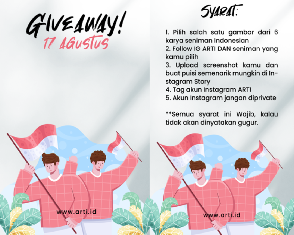 Giveaway 17 Agustus