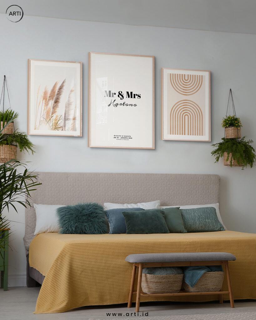Wall Art Set Text Art