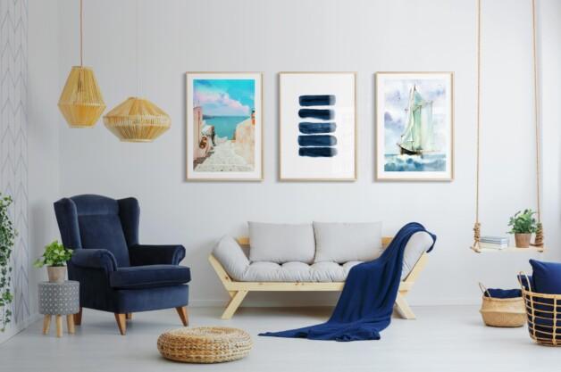 #BlueArt - Antara Langit dan Laut yang Menenangkan Jiwa