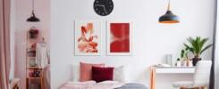 RedArt Berani Menggunakan Warna yang Kontras dalam Mendesain Wall Art