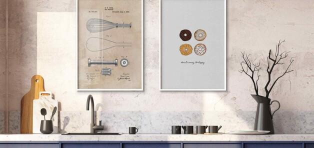 cover blog - Inspirasi Lukisan Membangun Mood Ketika Berada di Dapur